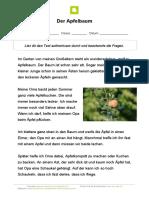 lesetext-der-apfelbaum