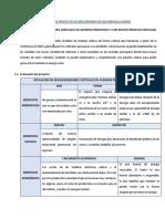 EVALUACIÓN DE PROYECTO DE MECANISMOS DE DESARROLLO LIMPIO