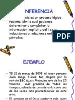 PPT INFERENCIAS DE COMPRENSION LECTORA