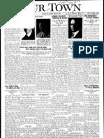 Our Town April 28, 1928
