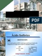 Preparacion de Acido Fosforico
