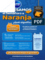Semaforo Regreso Naranja Guanajuato