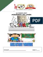 GUIAS  OCTUBRE Y NOVIEMBRE SEXTO GRADO