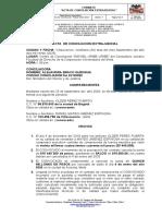 AUDIENCIA CONCILIACION acta de conciliacion