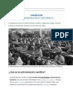 12 TAYLOR Y LA ADMINISTRACION CIENTIFICA DE LAS EMPRESAS