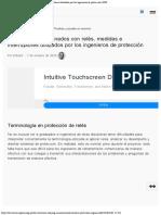 13 términos relacionados con relés, medidas e interruptores utilizados por los