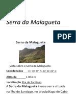Serra da Malagueta – Wikipédia, a enciclopédia livre