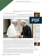Sobre a questão de um papa herege-D Athanasius Schneider