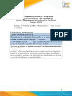 Guía de actividades y rúbrica de evaluación - Fase 3 - Sobre la Violencia