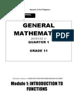 General Math 12 ( W1)