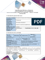 4. 2 Guía de actividades y rúbrica de evaluación - Tarea 2 - Formato normas APA.pdf
