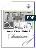Org and Managment Q2 Week 1