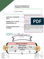 11 Guía de aprendizaje lenguaje orientacion