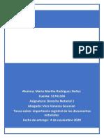 Estructura de los documentos notariales y su importancia