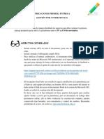INDICACIONES PRIMERA ENTREGA - GESTIÓN POR COMPETENCIAS