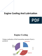 Cooling and Lubrication Mo (