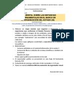 Instrucciones para  elaborar producto académico Sesión 1
