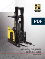 Hyster Reach Truck 1.6 Ton (Single and Double Deep option) N35ZDR2