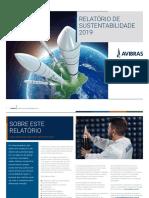 Avibras Relatório de Sustentabilidade  2019