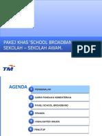 2011-01-19_PRESENTATION SchoolNet Broadband