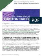 El Polimorfismo de Günther Enderlein y Gaston Naessens vencerá - Awaking Project