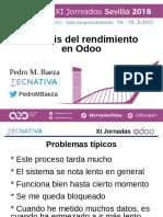 2018-06-14 - Análisis del rendimiento de código en Odoo