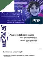 Apresentação. GEAIH_Encontro7_Análise de Implicação.pptx