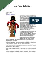 La búsqueda del Pirata Barbalata