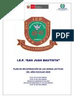 BOLETIN INFORMATIVO PR - 2020 - San Juan Bautista