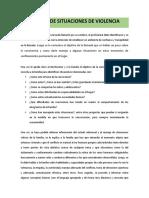 6. PROTOCOLO DE MANEJO DE SITUACIONES  VIOLENTAS