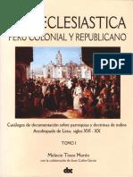 Catálogo del Archivo Arzobispal de Lima, Tomo I.pdf