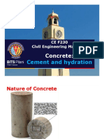 3. Cement, hydration, and SCM (Lec 3-9)