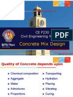 7. Concrete Mix Design (Lec 17-18)