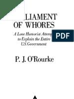 P J O'Rourke - Parliment of Whores (Politics, Humor, pdf)
