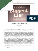 This Lying World by David Arthur Walters