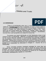 Co-ownership, Estate & Trust (Lesson & Problems)