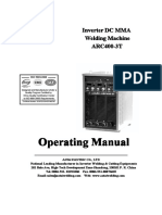 ARC400-3T Operating Manual