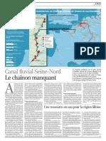 page du monde sur le canal du nord