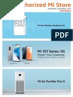 Xiaomi Nov-Dec 2020 product brochure