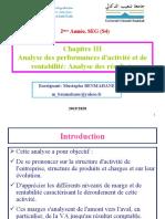 Analyse financière(Chapitre 3 Analyse de rentabilité et d'activité).ppt