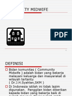 COMMUNITY MIDWIFE