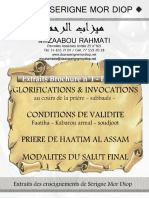 Glorirications & Invocations - Daara Serigne Mor Diop 2016.pdf