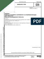 DIN EN ISO 13585 - 2012