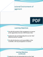 The Professional Env of Cost Management PPT Oct 10
