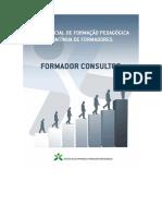 Referencial de Formacao Pedagogica Continua de Formadores - Formador Consultor