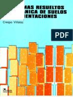 PROBLEMAS RESUELTOS DE MECANICA DE SUELOS Y DE CIMENTACIONES