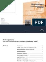 FieldExperience MAN B&W L27-38 diesel engine