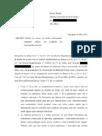 Requerimento Escusa José Aníbal