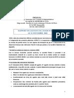 proposition rapport de gestion 2018