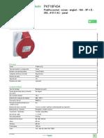Enchufes y tomacorrientes industriales PK_PKF16F434